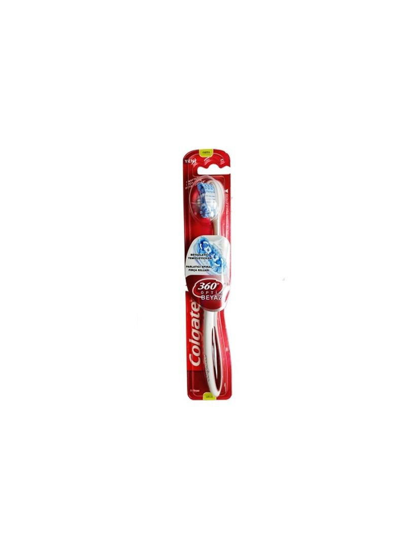 Colgate Diş Fırçası 360 Derece Optik Beyaz Orta