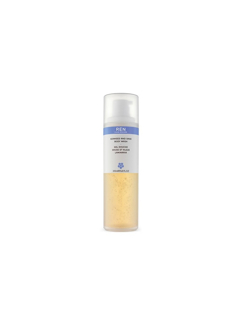 Ren Seaweed and Sage Body Wash 200 ml