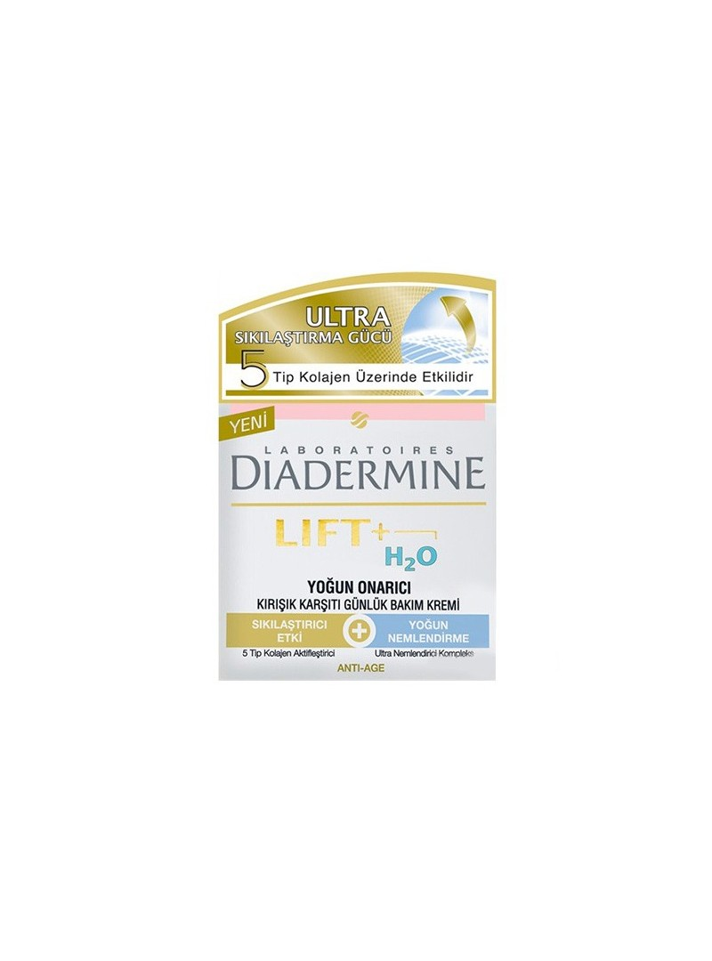 Diadermine Lift+ H2O Yoğun Onarıcı Kırışıklık Karşıtı Bakım Kremi 50 ml