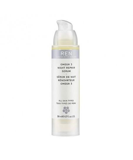 REN Omega 3 Night Repair Serum Lipit Yenileyici Gece Bakım Serumu 50 ml