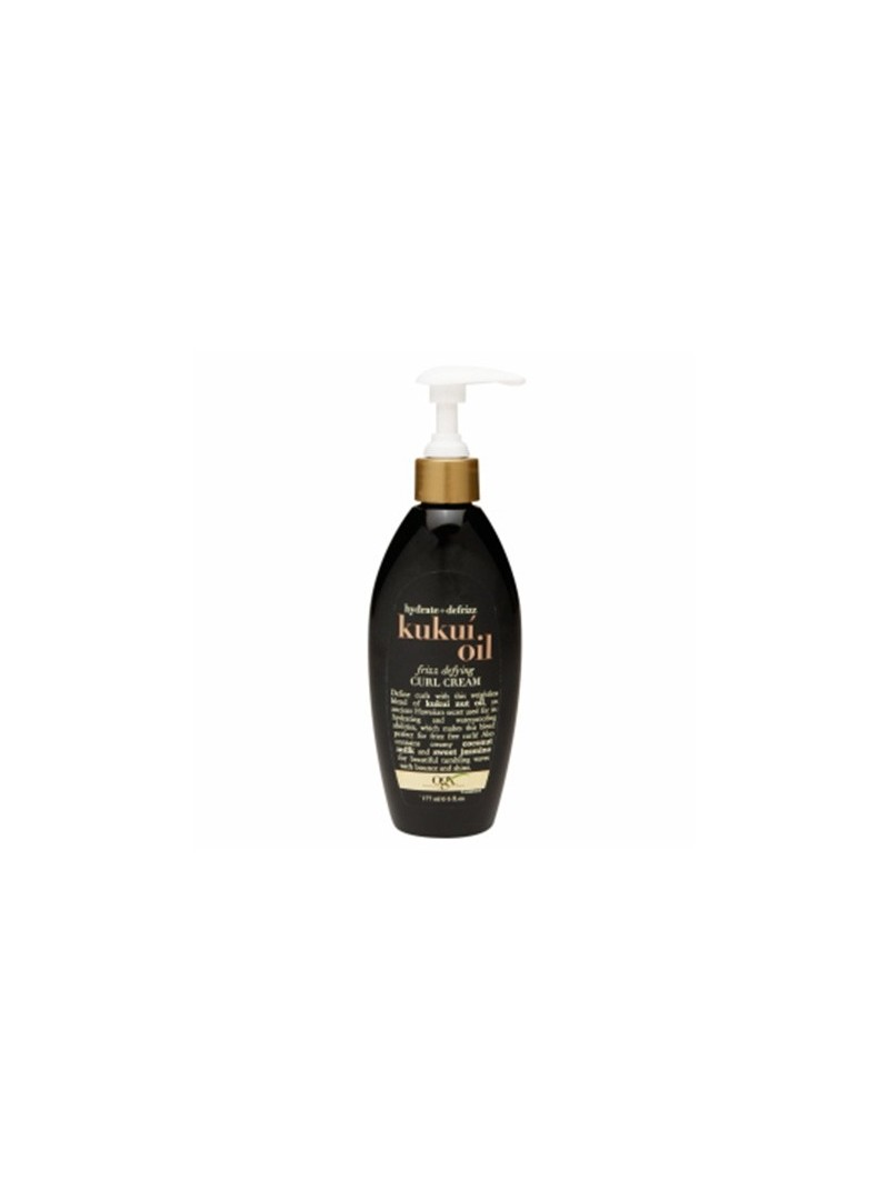 Organix Kukui Oil Defrizz Curl Cream 177ml