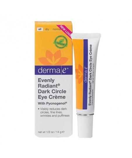 Derma E Evenly Radiant Dark Circle Eye Creme 15ml - Göz Çevresi Bakım Kremi