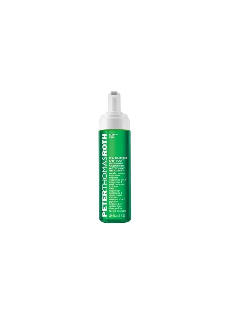 Peter Thomas Roth Cucumber De-tox Foaming Cleanser 200 ml