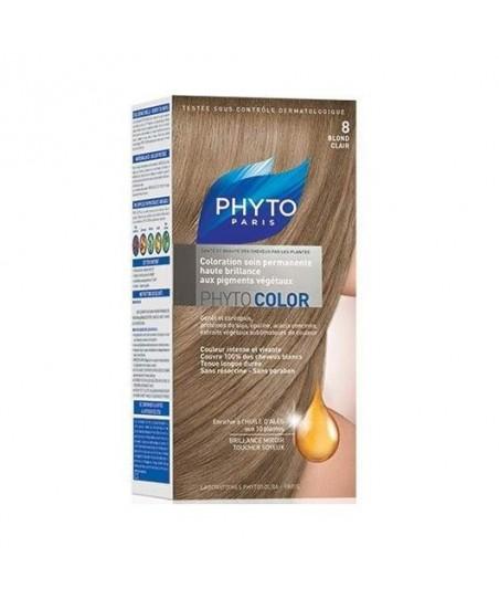 Phyto Color Saç Boyası 8 Açık Sarı (Blond Clair)