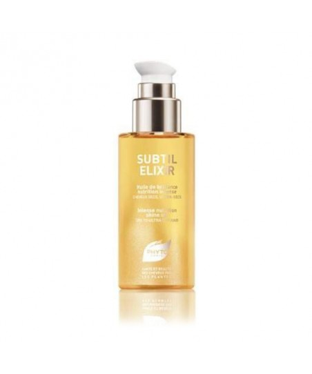 Phyto Subtil Elixir Shine Oil 75 ml - Kuru ve Çok Kuru Saçlar için Besleyici ve Işıltı Veren Yağ