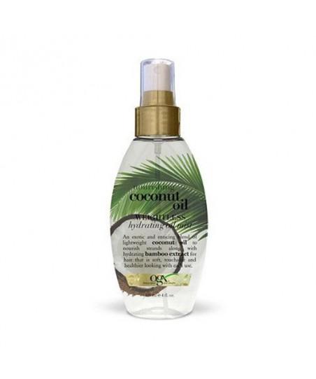 Organix Coconut Oil Weightless - Hindistan Cevizli Hidrasyon Etkili Nemlendirici Yağ