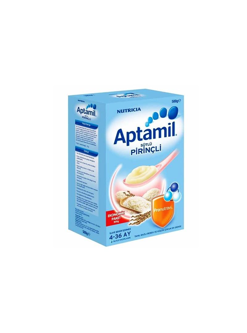 Aptamil  Sütlü Pirinçli 500 gr (Ekonomik Paket)