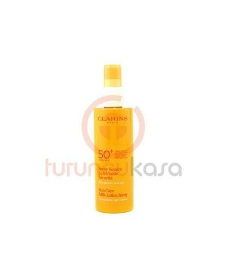 Clarins Spray-Solaire Lait Fluide Spf 50+ 150 ml.