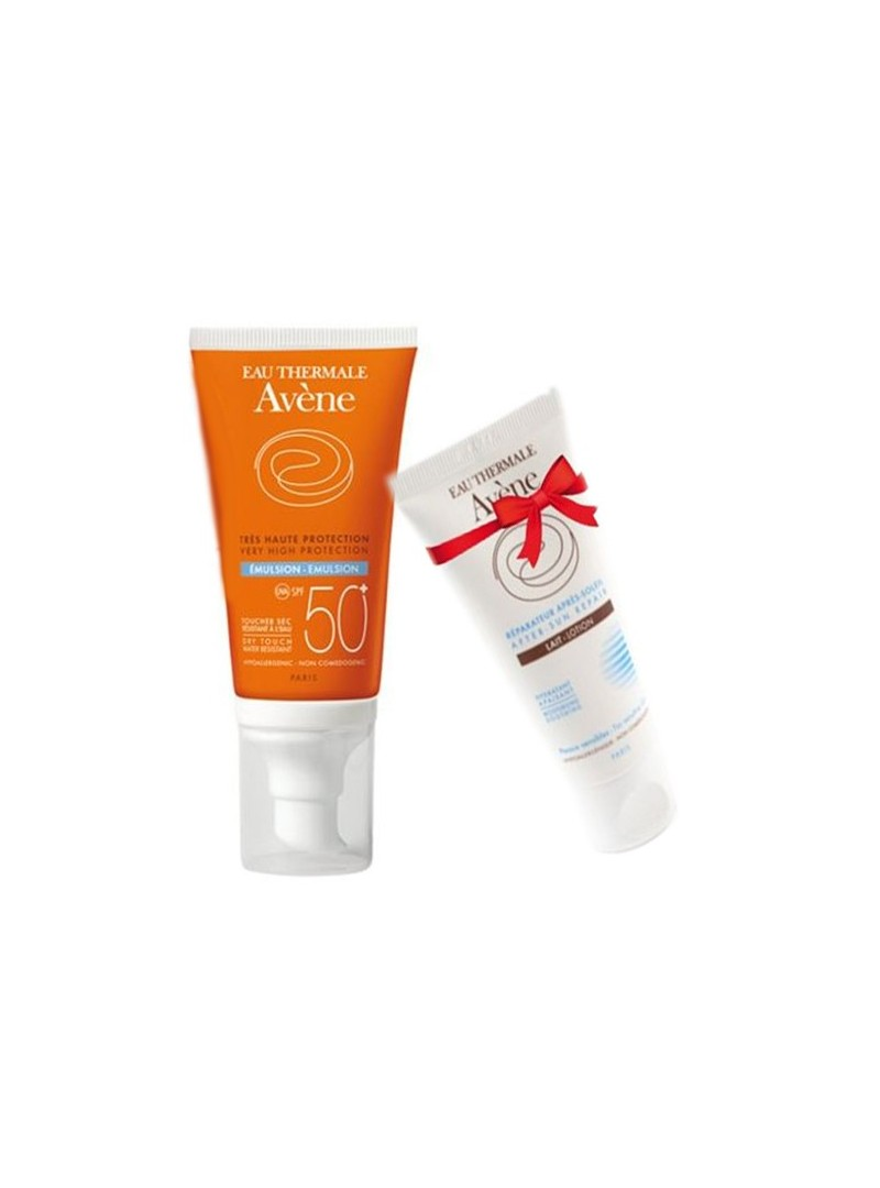 Avene Emülsion Spf50 50ml + Avene After Sun Lotion 50ml HEDİYE