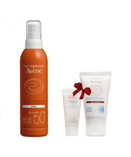 Avene Yüksek Koruma Spray Spf50 200ml + (After Sun Lotion 50ml-Hyance Optimale Legere 15ml HEDİYE)