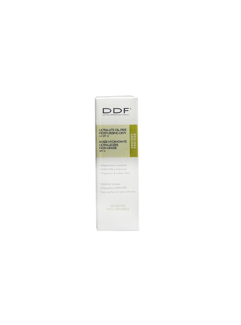 DDF Ultra Lite Oil Free  Moisturizing Dew With Suncreen SPF 15 48gr