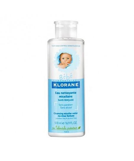 Klorane Bebekler için Miseler Temizleme Losyonu 500 ml - Bebek Temizleme Mendili 25 Adet Hediye