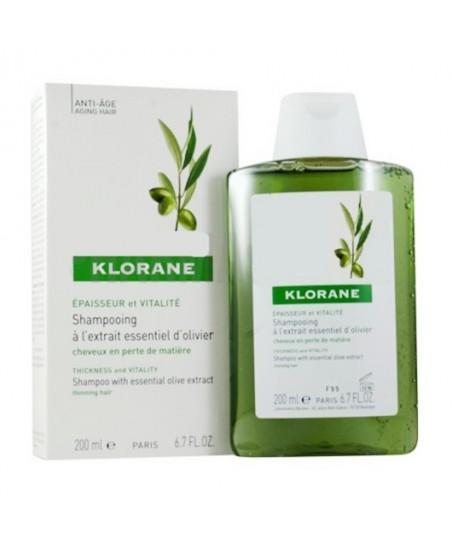 Klorane Zeytin Ekstreli Yaşlanma Karşıtı Bakım Şampuanı 200 ml