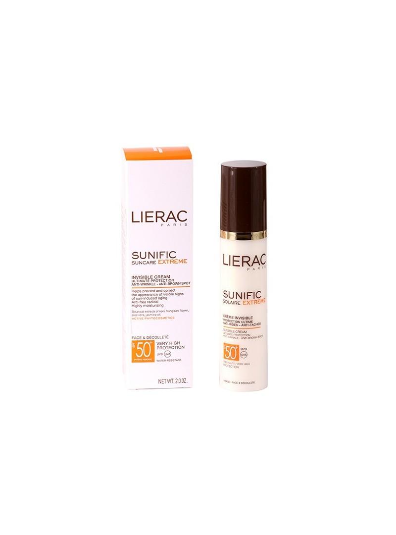 Lierac Sunific Suncare Extreme Invisible Cream Spf50 50ml