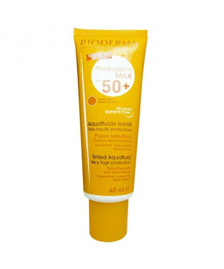 Bioderma Photoderm Max SPF 50+ Aqua Fluide Golden 40 ml