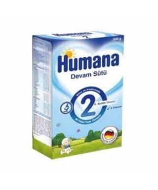 Humana 2 Devam Sütü 600 gr (6. aydan itibaren)