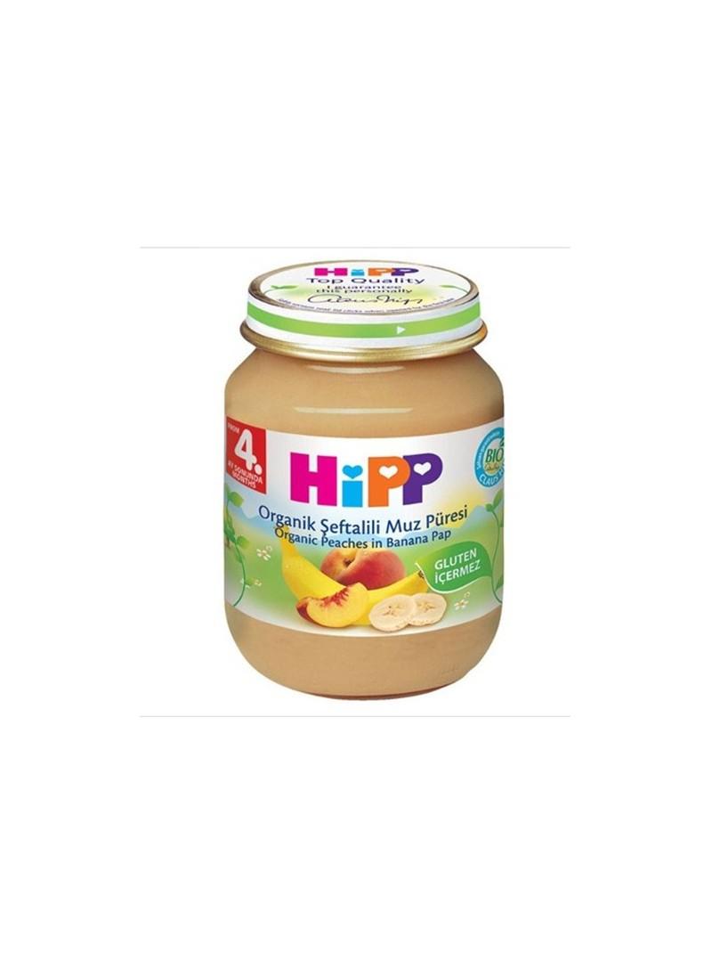 Hipp Organik Şeftalili Muz Püresi 125 gr