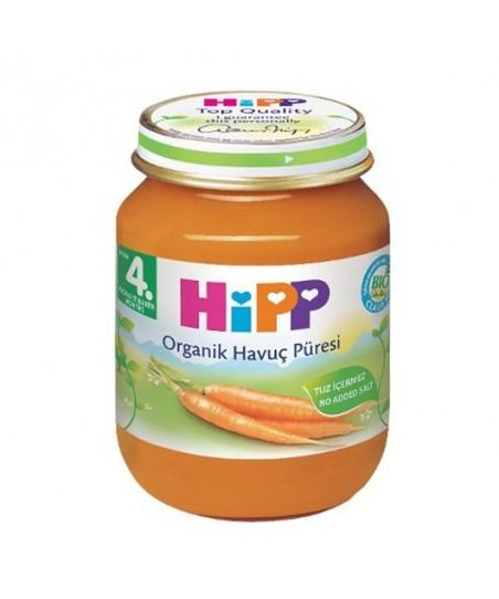 Hipp  Organik Havuç Püresi 125 gr