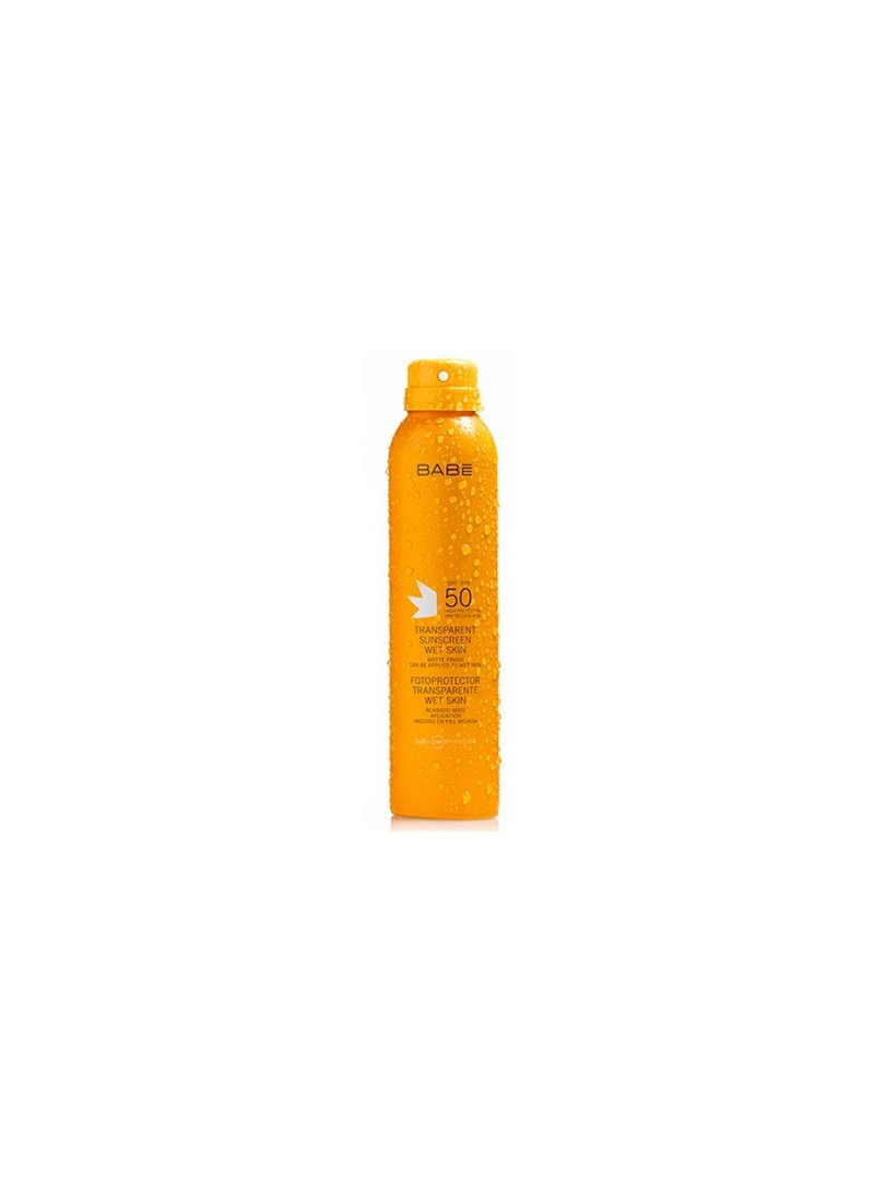 Babe Transparent Sunscreen Wet Skin Spf50 200ml.