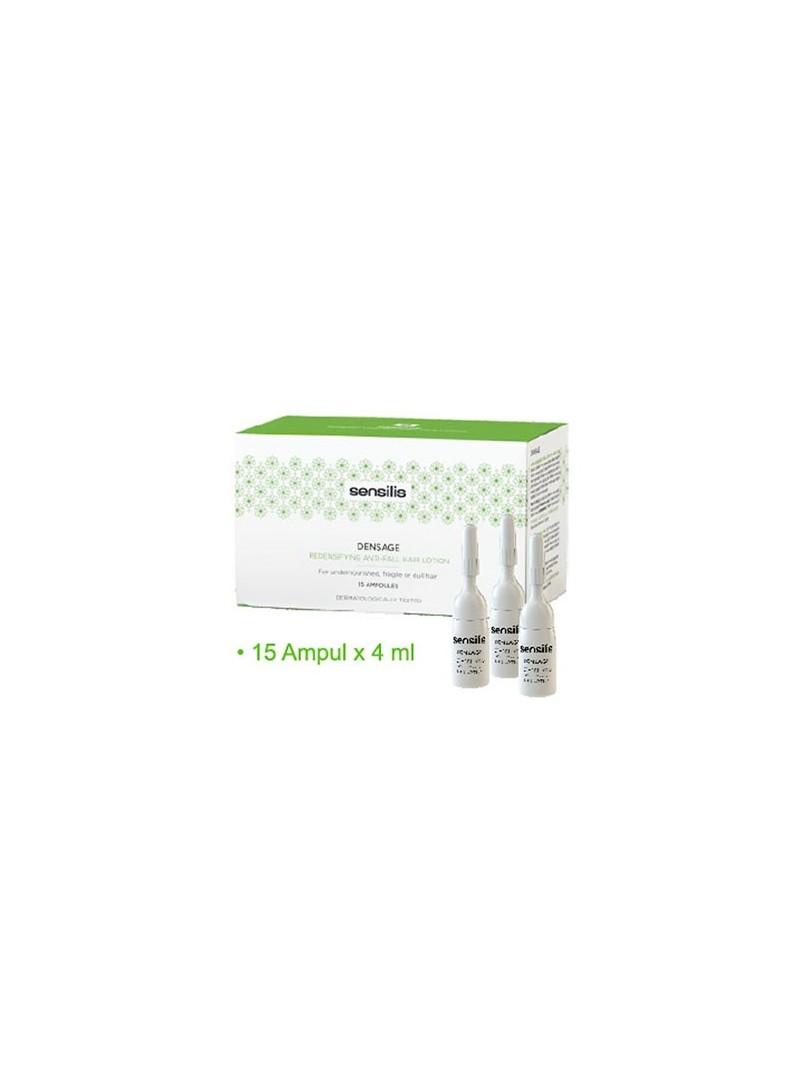 Sensilis Densage Redensifying Repairing Anti-Fall Hair Lotion 15Ampul x 4ml