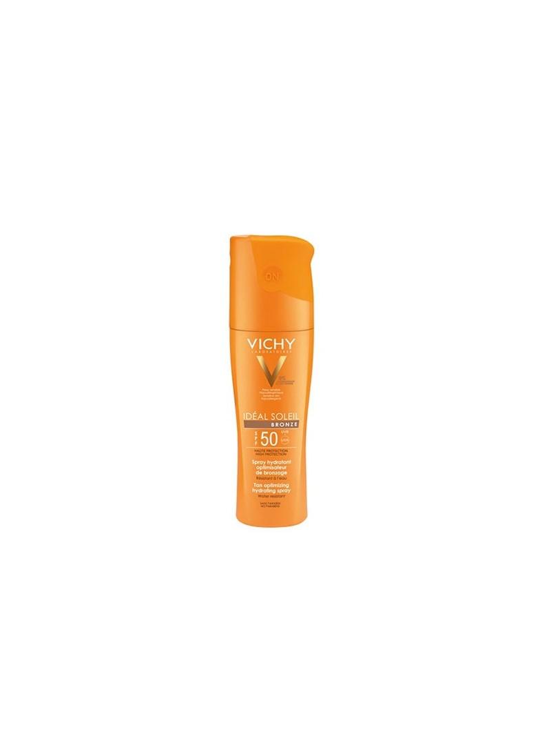 Vichy Ideal Soleil Bronze SPF 50+ Spray 200 ml - Brozlaştırıcı Güneş Spreyi