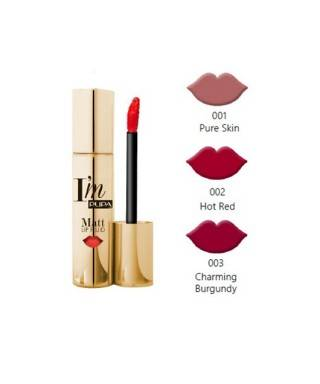 Pupa Milano Stay Gold Im Matt Lip Fluid
