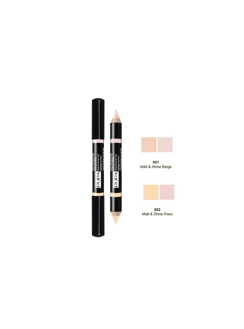 Pupa Milano Duo Highlighter Matt & Shine