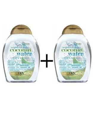 Organix Coconut Water Shampoo 385 ml Nemlendirici Şampuan x 2