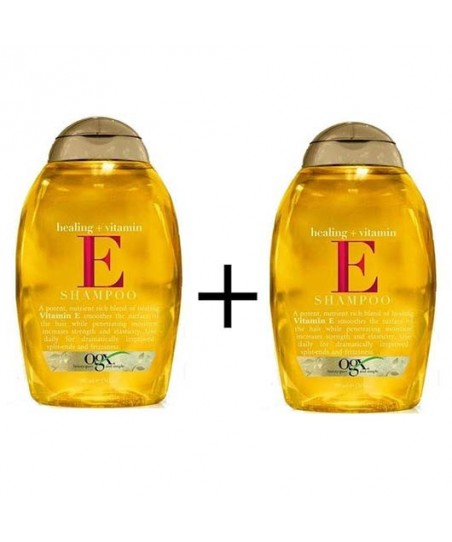 Organix Healing Vitamin - Saç Dökülmelerine Karşı Vitamin E Şampuan 385 ml x 2