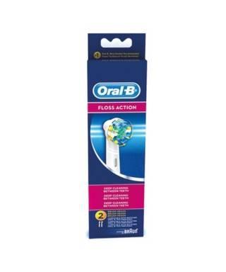 Oral-b Floss Action Diş Fırçası Yedek Başlığı 2 Adet