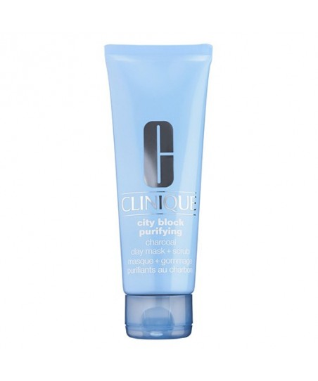 Clinique City Block Purifying Charcoal Clay Mask + Scrub 100ml