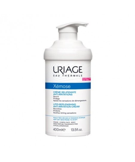 Uriage Xemose Lipid-Replenishing Anti-Irritation Cream 400ml - Nemlendirici Krem