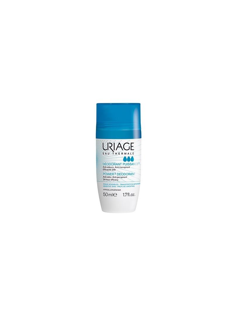 Uriage Power3 Deodorant Roll On 24h 50ml