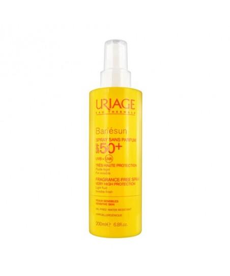 Uriage Bariesun Spray Sans Parfüm Spf50+ 200ml