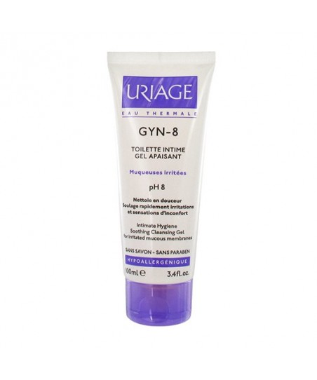 Uriage Gyn-8 Soothing Cleansing Gel 100ml - İntim Temizlik Jeli