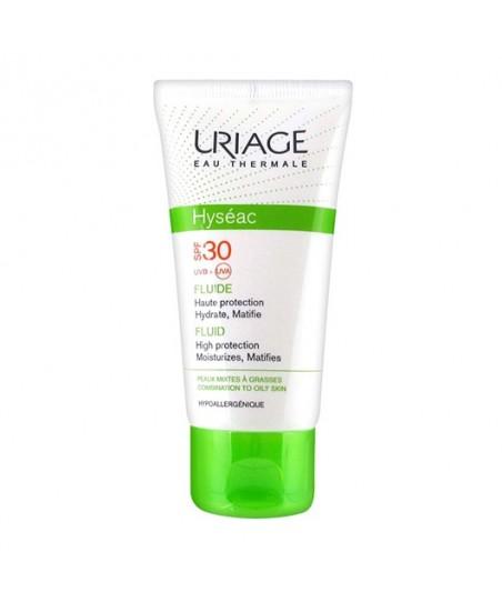 Uriage Hyseac Fluide Spf30 Krem (Oil Free) 50ml - Güneş Koruyucu