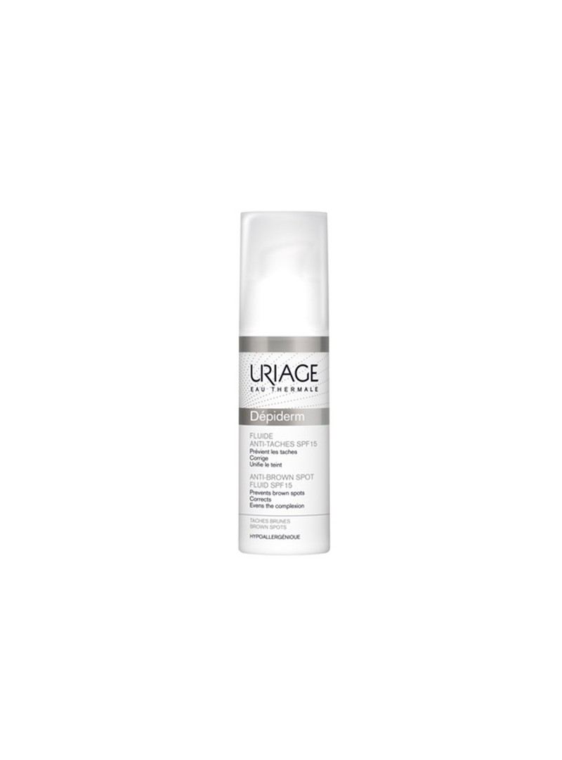 Uriage Depiderm Anti-Brown Spot Fluid SPF15 30ml - Leke Kremi