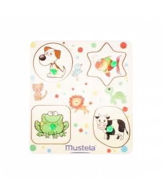 PROMOSYON - Mustela - Doğal Ahşap Puzzle Set