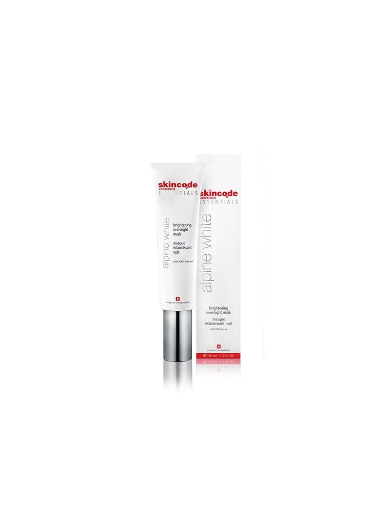 Skincode Alpine White Brightening Overnight Mask 50ml - Gece Maskesi