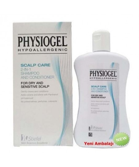 Physiogel Scalp Care 2in1 Shampoo And Conditioner - Kremli Şampuan