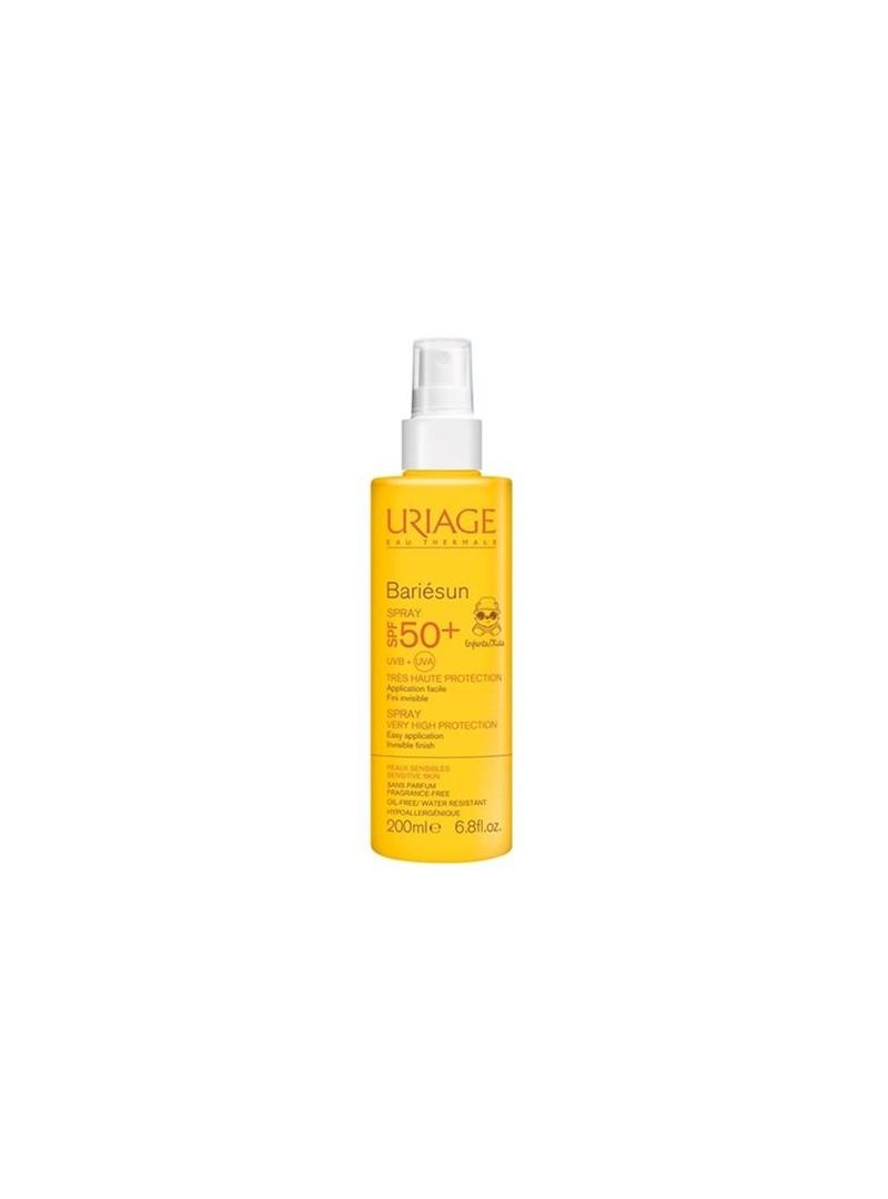 Uriage Bariesun Children Spray SPF50+ 200ml - Çocuklar İçin Güneş Koruyucu Yüz ve Vücut Spreyi