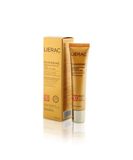 Lierac Sunissime Energizing Protective Fluid Spf50 40ml