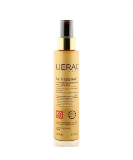 Lierac Sunissime Energizing Protective Milk Spf50 150ml