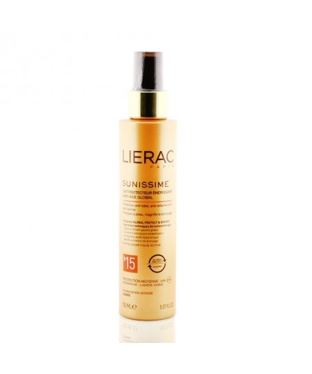 Lierac Sunissime Energizing Protective Milk Spf15 150ml