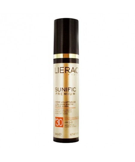 Lierac Sunific Premium Voluptuous Cream Global Anti Aging SPF30 50 ml
