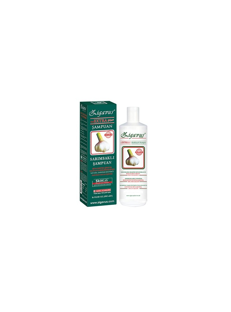 Zigavus Kokusuz Extra Plus Sarımsaklı Şampuan 450 ML