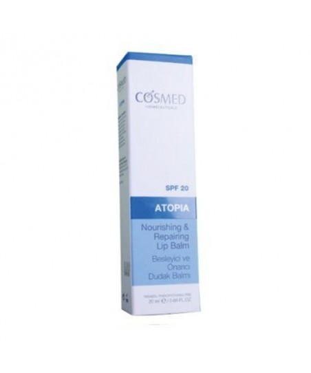 Cosmed Atopia Nourishing & Repairing Lip Balm Spf20 20ml - Dudak Balmı