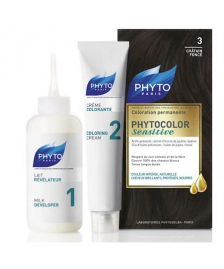 Phyto Phytocolor Sensitive Saç Boyası 3 Koyu Kestane