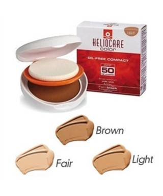 Heliocare Color SPF 50 Oil Free-Compact 10g