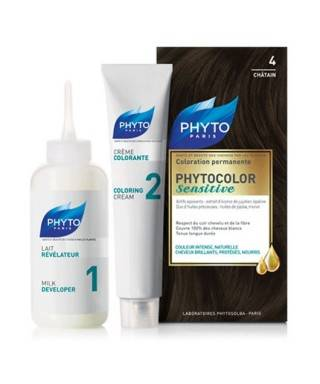 Phyto Phytocolor Sensitive Saç Boyası 4 Kestane